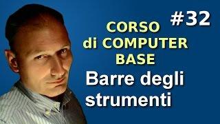 Maggiolina - Corso di Computer Base - 32 le barre degli strumenti