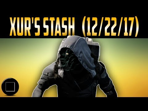 Destiny 2 - Xur's Inventory For (12/22/17)