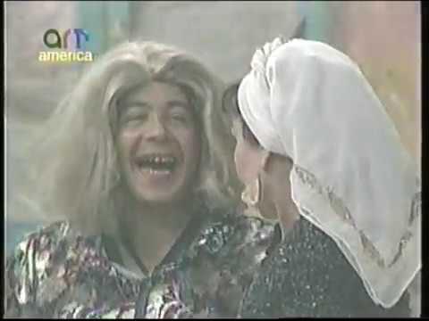 مشهد كوميدى من مسرحية عطيه الارهابيه 1993