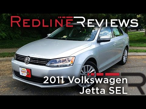 2011 Volkswagen Jetta SEL Review, Walkaround, Exhaust, & Test Drive