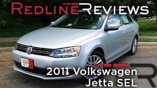 2011 Volkswagen Jetta SEL Review, Walkaround, Exhaust, & Test Drive