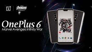 Oneplus 6 Avengers (India): First Look   Hands on   Launch