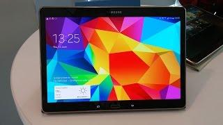 Samsung Galaxy Tab S 10.5 обзор ◄ Quke.ru ►(Видеообзор планшета Samsung Galaxy Tab S 10.5 Купить планшет Samsung Galaxy Tab S 10.5 ..., 2014-08-25T15:41:06.000Z)