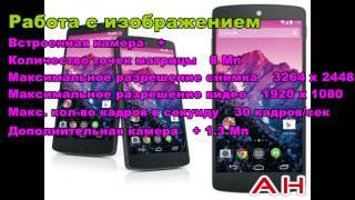 Полный обзор телефона LG NEXUS 5