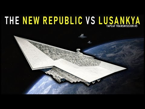 The New Republic Takes on the LUSANKYA SSD | Tapcaf Transmission #5: The Bacta War