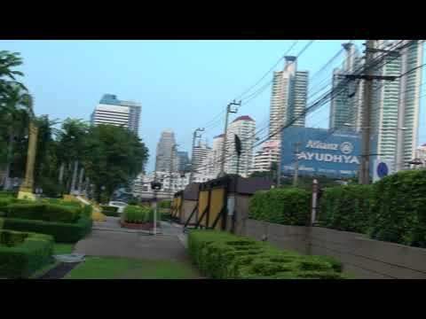 Bangkok, Thailand - Outside Benjakitti Park (Queen Sirikit National Convention Center - Take 1)