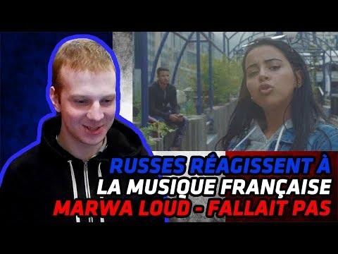 RUSSIANS REACT TO FRENCH MUSIC | Marwa Loud - Fallait Pas | REACTION