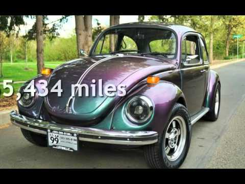 1971 Volkswagen Super Beetle Custom Chameleon Flip Flop Paint For In Milwaukie Or