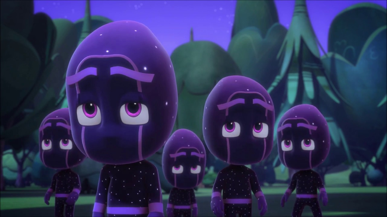 Pj Masks Meet Night Ninja Part 1 2 Youtube