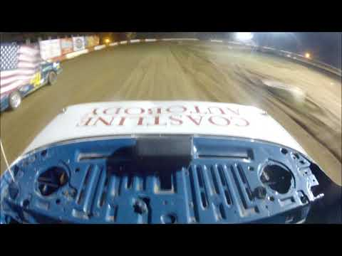 Coos Bay Speedway 9-9-17 Hornet Main event rear view car #3