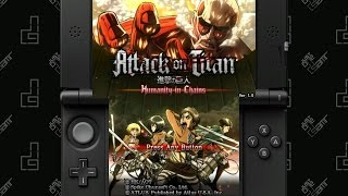 Attack on Titan: Humanity in Chains - 70 Minute Playthrough [3DS]