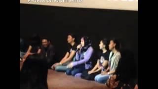 Dewi Sandra Launching Trailer Haji Backpacker 7