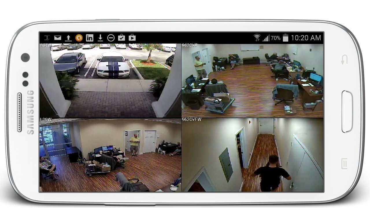 Cctv Home Android Security Camera Viewer App For Idvr Pro Cctv Dvrs