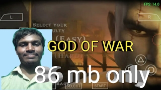 This is awsome! God of war in 86mb psp android game
