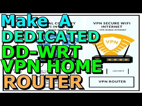 DD WRT Dedicated VPN Router How To TP Link WR940N PPTP L2TP Both Supported Private Internet Access