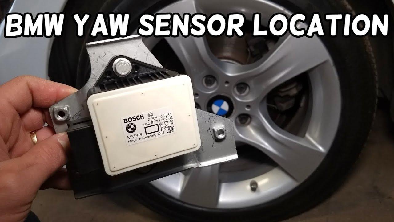 BMW YAW RATE SENSOR LOCATION BMW E90 E60 E46 E83 E92 E82 E87 E85 Z4