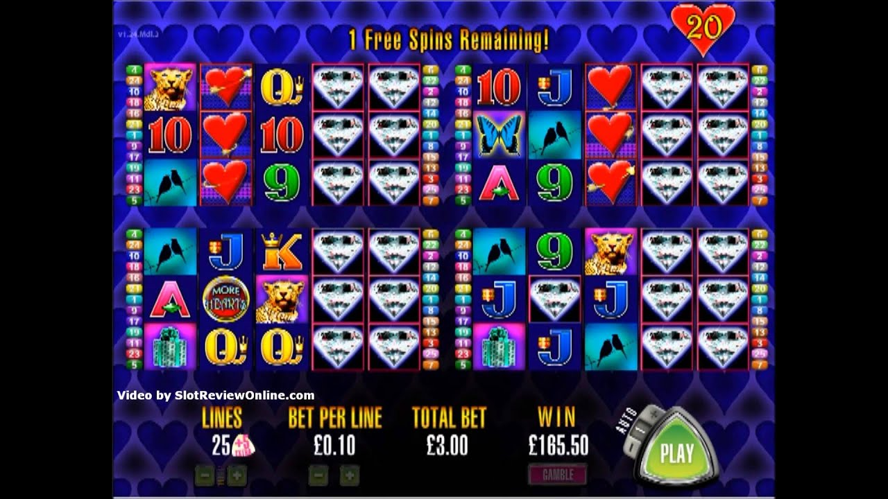More Hearts Slot Machine Free Online