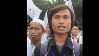LIVE   Suasana Demo Aksi Bela Islam II 4 November 2016 LIVE