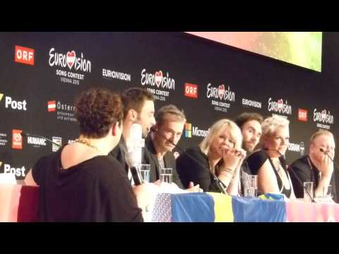 Eurovision 2015: Måns Zelmerlöw Winner's Press Conference   wiwibloggs