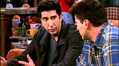 Friends Moments - Ross and Joey are dating the same person!