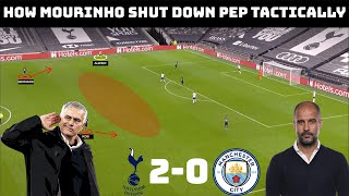 How Mourinho Outwitted Guardiola | Tactical Analysis: Tottenham 2-0 Manchester City |