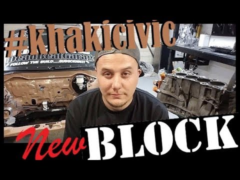 KhakiCIVIC Gets A New Block !!