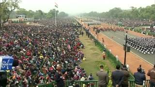 Republic Day rehearsal takes place in New Delhi ahead of Obama's visit