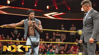 Velveteen Dream and EC3 play mind games: Aug. 15, 2018