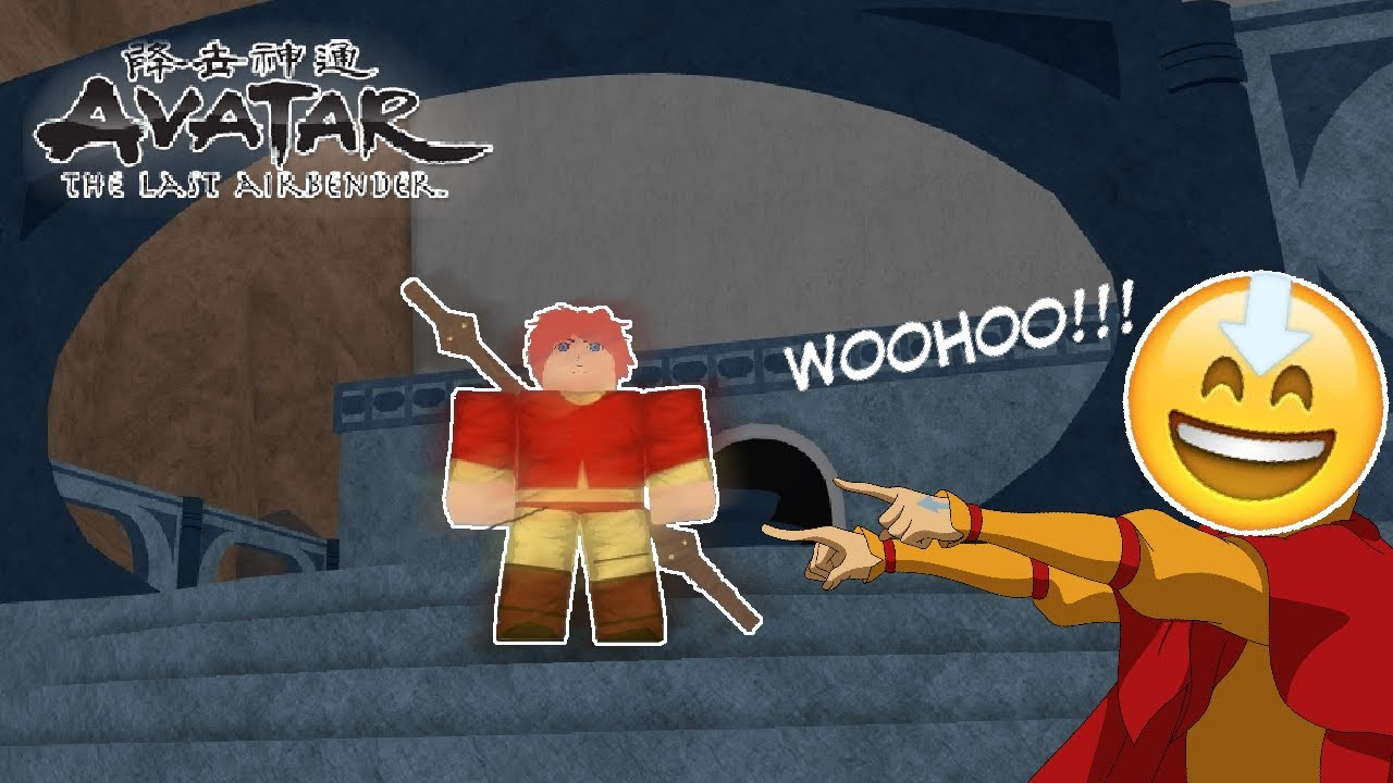 Becoming An Airbender Roblox Avatar The Last Airbender Youtube