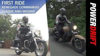 UM Renegade Commando Mojave and Classic : First Ride : PowerDrift