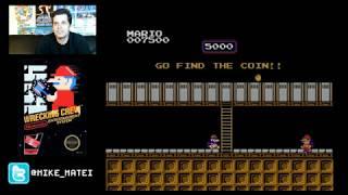 Wrecking Crew (NES) Phases 1-22 - Cinemassacre Plays