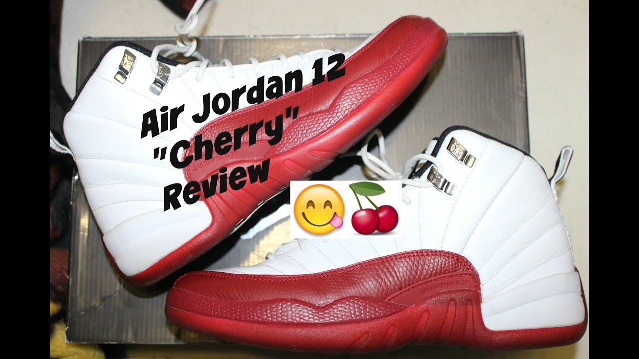 san francisco 1d9dc 4e0df Air Jordan Cherry 12 Review   On Foot