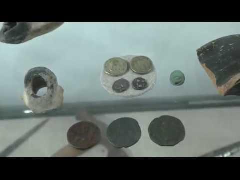 Пушки и якоря - новые экспонаты музея Никольского храма Таганрога