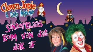 Clown Jopie en Tante Angelique - Sinterklaas, kom van dat dak af (officiële videoclip)