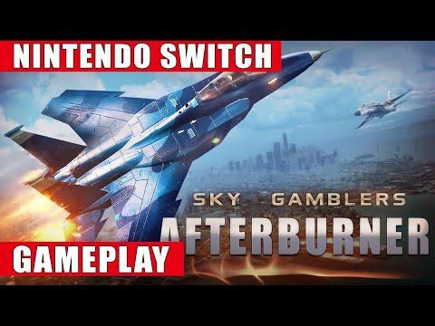 Sky Gamblers - Afterburner Nintendo Switch Gameplay