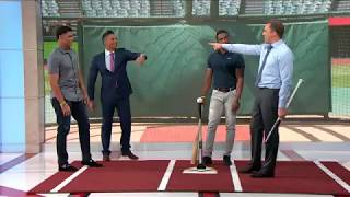 MLB Central: Juan Soto and Victor Robles at the Skybox