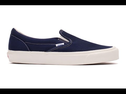 db2e84e8e6be Shoe Review  Vans Vault Originals   OG Classic Slip-On LX (Peacoat) 2015  Release