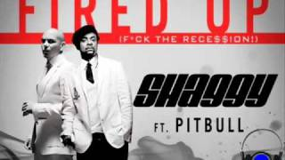 Shaggy feat Pitbull -- Fired up
