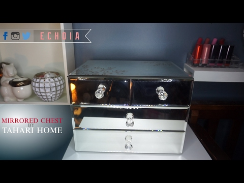 What I got for Christmas   Mirrored Jewelry Chest by Tahari Home