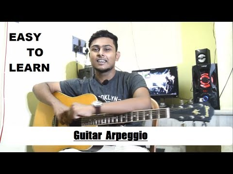 Guitar Arpeggio lesson-How to play-Beginner Acoustic Guitar Lesson-Tutorial 10