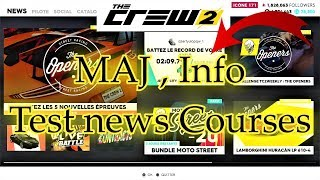 The Crew 2 MAJ 29 janvier test course info