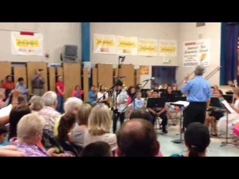 """La Bamba"" performed by Manchester Elementary School concert band"