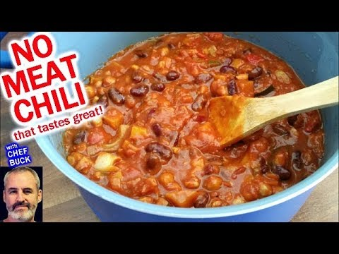 Vegetarian Chili For Everyone...even Meatlovers