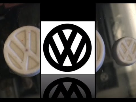original vw volkswagen logo found mandela effect - youtube