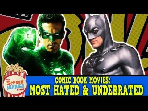 Comic Book Movies: Most Hated & Underrated