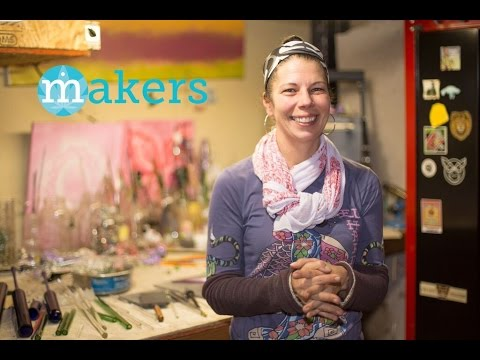 The Queen of Colored Glass: Julie Krengielski