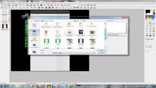 Tutorial como fazer uma BG e letra 3D com Photofiltre Studio