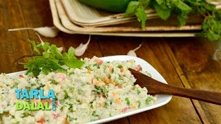 Bulgur Wheat Salad (low Cholesterol) By Tarla Dalal