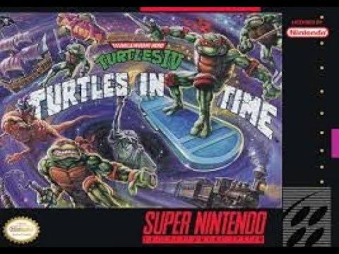 Teenage Muntant Ninja Turles IV  Turtles in time Part 2 and normal ending