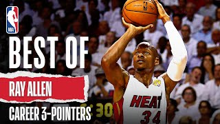 Best Of Ray Allen | Career 3-Pointers
